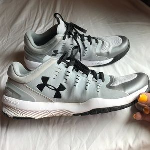 Under armour gray sneakers